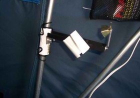 Fish alarm for portable pullover traps