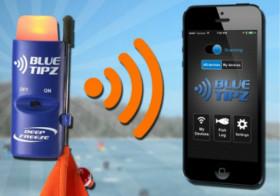 Blue Tipz tip up alert system