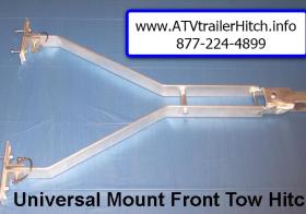 ATV & Snowmobile Trailer Tow Hitch