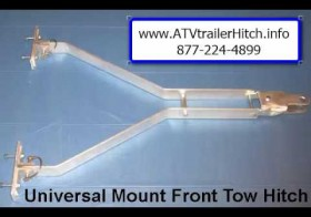 ATV & Snowmobile Sled / Trailer Tow Hitch