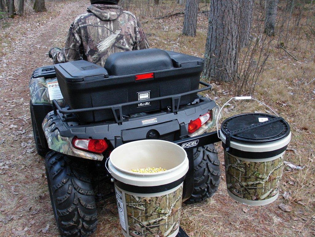 Home ice fishing equipment for Fishing caddy bucket